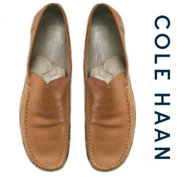 cd48c338a7d Cole Haan Shoes - Cole Haan Natural Tan Beige Loafers Flats Shoes 11